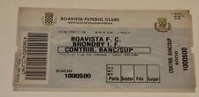 Ticket for collectors CL Boavista Porto  Brondby Copenhage 1999 Portugal Denmark