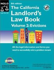 The California Landlord's Law Book Volume 2: Evictions (8th Ed)