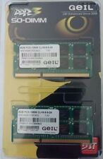 GeIL 16GB ( 2 x 8GB ) LAPTOP RAM SO-DIMM DUAL CHANNEL PC3-10660(10666) DDR3 Kit