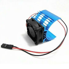 With 5V Cooling Fan For 540 550 3650 Motor Aluminum Heat sink For 1/10 RC Car