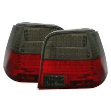 2 FEUX ARRIERE LED VW GOLF 4 10/1997 A 9/2003 3 5 PORTES CRISTAL NOIR ROUGE