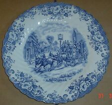 Johnson Brothers COACHING SCENES Small Dinner Salad Luncheon Plate