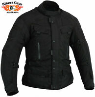 Australian Bikers Gear Adventure Dritech Motorcycle Waterproof CORDURA JACKET