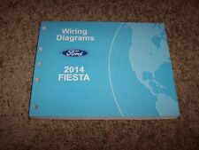2014 Ford Fiesta Electrical Wiring Diagram Manual S SE ST Titanium 1.0L 1.6L
