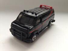 the ERTL  GMC  A -Team Van in Black schwarz 1983 USA  1:64