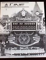 Disneyland 1985 Gift Giver Extraordinaire Machine Walt Disney Newsletter June 27