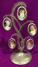Godinger Silver Plated Family Tree 5 Pictures Frame 10 in high Vintage
