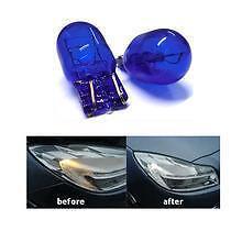2 x P21W/5W DRL / Sidelight Bulbs T20 580 7443 7440 5000K Error Free
