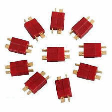 10 pairs male and female T type plug Dean connector For RC Drone Lipo battery GX