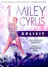 DVD Miley Cyrus: Xplicit & 3 bonus movies NEW Beer League, Fifty Pills,