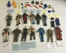 "Gi Joe/Cobra 3.75"" Action Figures Parts Accessories Lot 1992-2011"