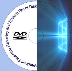 Windows 7 8 10 PC Laptop Password Recovery Remove Reset Utility Disc FREE P&P