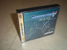 THUNDER FORCE V(5).SPECIAL SEGA SATURN JPN.REPLACEMENT CASE+INLAYS ONLY.NO GAME