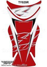 Yamaha R1 2007 2008 Red Motorcycle Tank Pad Protector Motografix 3D Gel Tankpad