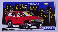 ADESIVI NISSAN TERRANO I 4x4 80er STICKER DECAL AUTOCOLLANT Youngtimer
