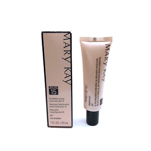 Mary Kay Foundation Primer Sunscreen SPF 15 FRESH!! FREE SHIPPING!!