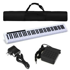 88 Key Portable Digital Piano Kids Play Gift MIDI Keyboard Weighted Key w/Pedal