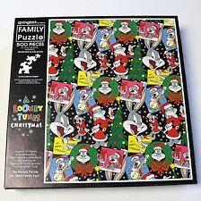 Looney Tunes Christmas Family Jigsaw Puzzle 500 Piece Springbok Complete