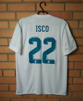Real Madrid Isco Jersey 2017 2018 Home M Shirt Adidas Football Soccer Trikot
