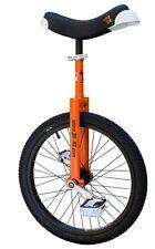 QU-AX Einrad 20 Zoll Luxus orange mit Einradständer NEU 1106