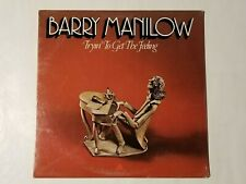 SEALED  BARRY MANILOW TRYIN' TO GET THE FEELING LP 1975 ARISTA RECORDS AB-4060
