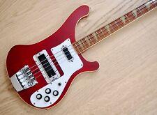 1975 Rickenbacker 4001 Vintage Bass Guitar Burgundyglo 100% Original, 4003