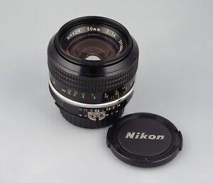 Nikon Nikkor 50mm f1.4 AI lens