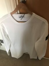 Stone Island White Light Sweatshirt Size Large Genuine Authentic RRP £200 Ghost