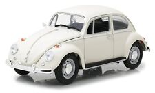 Greenlight 1/18 Lotus White 1967 VW Beetle Right Hand Drive 13510 Diecast