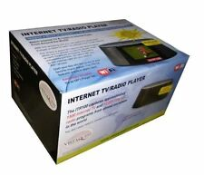 "VistaQuest Portable Internet Wi-Fi TV/Radio with 3.5"" LCD Screen ITR100-NEW"