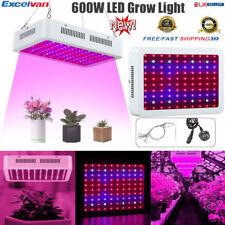 600W Full Spectrum LED Hydroponic Plant Grow Light Bulb Lamp Lighting Growth UK
