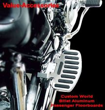 Billet Aluminum Passenger Floor Boards, Honda VTX 1300 R/S/T/C, #01-27682