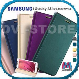 Custodia per SAMSUNG Galaxy A51 LUXURY Libro FLIP COVER MAGNETICA Portafogli