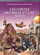 Les Contes des Mille et une Nuit. Dessins BARDET.  Littérature en BD n°8 EO 2010