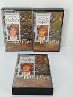Vintage Retro Don Williams Country Music Cassettes Tapes Bundle x 3 Classics