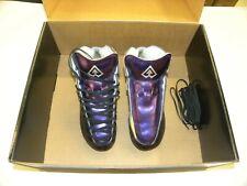 Riedell Ar1 Antik Roller Skate Boots Custom Purple, Black, Silver Size 5 New