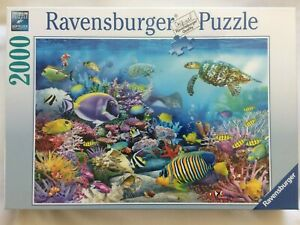 Brand New Ravensburger 2000 Piece Jigsaw Puzzle - CORAL REEF MAJESTY