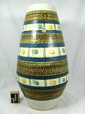 Beautiful / Schöne 60´s WGP design FOHR Keramik vase 317 - 40 original label