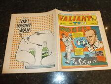 VAILLANT & TV21 BD - DATE 03/06/1972 - GB IPC Paper BD