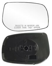 2009-2013 Toyota Corolla Passenger Side Power Mirror GLASS with Backing Plate
