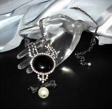 Strass Collier mit Perle, 1A-Qualität von Jablonex - sc068