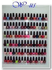 Nail Polish Wall Rack Acrylic hold up to 96 bottles( OPI, ESSIE, CHINA GLAZE...)