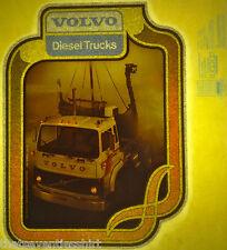 volvo diesel trucks viking 80s vintage retro tshirt transfer print new NOS