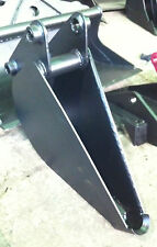 """6"""" to 12"""" tapered 5 to 8 ton excavator digging pipe bucket"""