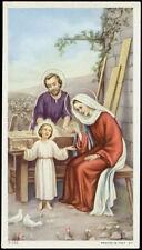 "santino-holy card""""ediz. NB serie 3  n.162 SACRA FAMIGLIA"