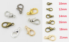 """1/2"""" Lobster Claw Clasp Parrot Jewelry Making Necklace Bracelet Fastener Closure"""