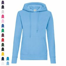 Fruit of the Loom Classic Hooded Sweat Lady-Fit Hoodie Kapuzenpullover