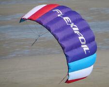 Brand New Flexifoil Big Buzz 1.6m2 Older Kid's Power Sport Kite Activity Package