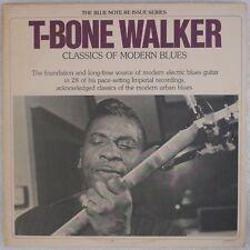 T-BONE WALKER: Classics of Modern Blues USA Blue Note 2x LP NM- Wax