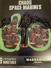 Chaos Space Marine squad 10 Models MONOPOSE Shadowspear Games Workshop Warhammer